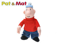 Postavička Mat plyš 40cm 0m+ v sáčku Pat a Mat