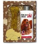 Dárkové balení pro psy - šampon + pamlsek s obrázkem kokršpaněla - VÝPRODEJ
