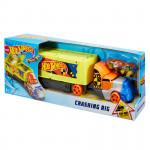 Mattel Hot Wheels Havarující tahač - VÝPRODEJ