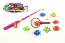 Hra ryby/rybář plast 40cm