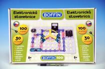 Stavebnice Boffin 100 elektronická 100 projektů na baterie