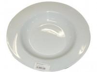 talíř hluboký 23,5cm BÍ porcelánový