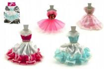 Šaty/Oblečky na panenky v sáčku 27x30cm - mix variant či barev - VÝPRODEJ