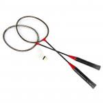 Spokey Badmnset 1 Sada Na Badminton 2 x raketa, košíček, obal