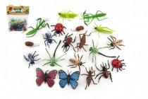 Hmyz plast 5-10cm