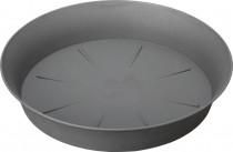 Plastia miska Tulipán - anthracite  45 cm - VÝPRODEJ