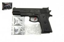 Pistole na vodní kuličky 7-8mm plast 18cm
