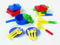 Jídelní set - talířky + příbory
