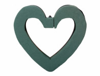 Hmota aranžovací OASIS IDEAL srdce 21,5x22x3cm