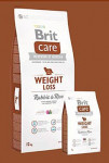Brit Care Dog Weight Loss Rabbit & Rice 3kg - VÝPRODEJ