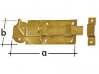 zástrč zamykací rovná 140x55x5,0mm WZP140