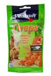 Vitakraft Rodent Rabbit poch. Drops carrots 75g