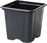 Květináč - kontejner, měkký plast 9x9x9,5(10) cm