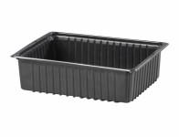 Miska výsevná plastová černá 19x14cm - VÝPRODEJ