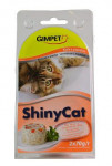 Gimpet kočka konz. ShinyCat  kuře/papaja 2x70g