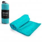 Spokey MANDALA Rychleschnoucí plážový ručník, tyrkysový, 80x160 cm