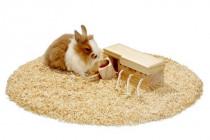Hračka hlod. dřevo interaktivní - šuplíky, Karlie 21,5 x 8,5 x 7,5 cm