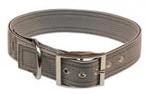 Obojek nylon šedý B&F 4,0 x 50 cm