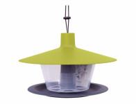 Krmítko pro venkovní ptactvo Finch - zelená + tm. anthracite