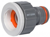 """adaptér s vnitřním závitem 3/4"""" + 1"""", POWER JET, WL-2193, WHITE LINE"""