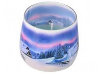 svíčka vonná sklo ZIMA 100g (hoří 20hod)