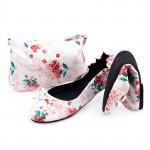 CatMotion skládací baleríny do kabelky Morning Flower
