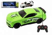 Auto RC 25cm plast zrychlující 1:16 na baterie + dobíjecí pack - mix barev - VÝPRODEJ