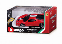 Bburago 1:43 Ferrari Race & Play na baterie se světlem a zvukem - mix variant či barev
