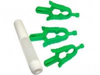 pinzeta na klíště (3ks) + pipetka na dezinfekční roztok plastová