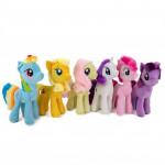 My Little Pony plyšový koník - MIX VARIANT ČI BAREV - VÝPRODEJ