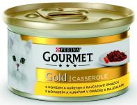 Gourmet Gold konz. kočka pašt.hov.a kuře v rajč.om.85g - VÝPRODEJ