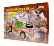 Stavebnice Merkur SAFARI Set