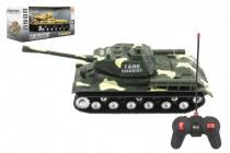 Tank RC T-34/85 plast 25cm na baterie se zvukem se světlem 2 druhy