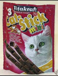 Vitakraft Cat pochoutka Stick mini Turkey+lamb 3x6g - VÝPRODEJ