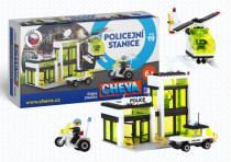 Stavebnice Cheva 19 Policejní stanice plast