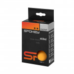 Spokey Skilled pingpongové míčky 2* oranžové, 6 ks