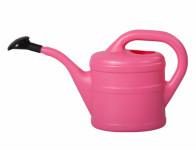 Konvička s růžicí plastová růžová 1l - VÝPRODEJ