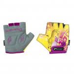 Spokey GIRAFFE GLOVE Dětské cyklistické rukavice XXS (15,5 cm) - VÝPRODEJ
