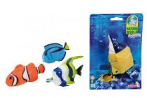 Gumové strečové ryby Oceán, 14cm - mix variant či barev - VÝPRODEJ