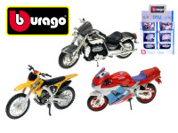 Motorka Bburago kov/plast 11-12cm - mix variant či barev