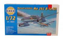 Model Messerschmitt ME 262 B-1a/U1 1:72 14,7x17,4cm