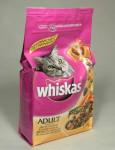 Whiskas Dry s kuřecím masem 1,5kg