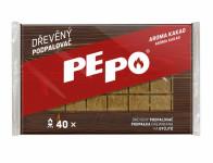 Podpalovač PE-PO dřevěný 40 podpalů