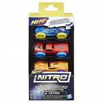 Nerf Nitro náhradní nitro 3 ks - mix variant či barev