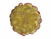 Květ JIŘINA umělý žluto červený 8cm
