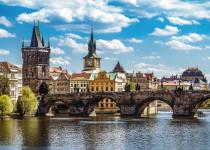 Praha: Pohled na Karlův most 1000 dílků