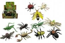 Hmyz plast 13cm mix druhů 48 - mix variant či barev