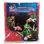 Písek akvarijní Neon červený Flamingo 1 kg, 4 -7 mm