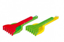 Lopatka a hrábě velké sada plast 35cm Wader - mix barev