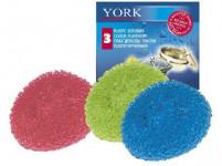 drátěnka plastová (3ks) - mix barev